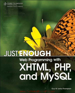 Web Programming with XHTML, PHP and MySQL