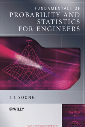 Fundamentals Of Probability And Statistics For Engineers By T.T. Soong