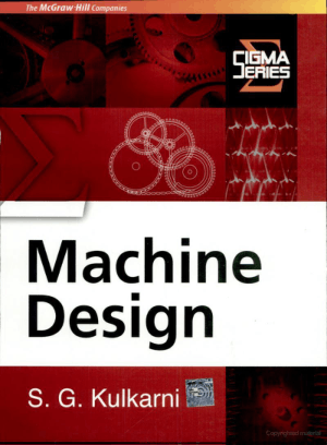 Machine Design by S G Kulkarni