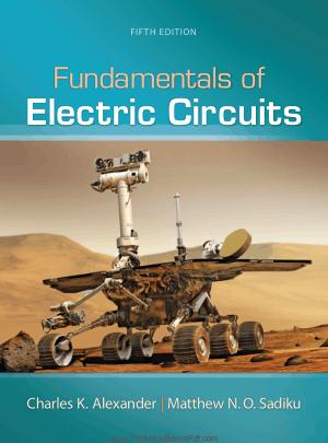 Fundamentals of electric circuits 5th edition Charles K Alexander and Matthew Sadiku