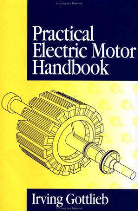Practical Electric Motor Handbook By Iring Gottlieb