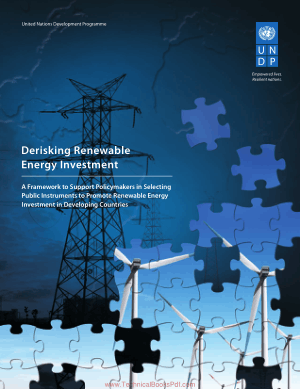 UNDP Derisking Renewable Energy Investment