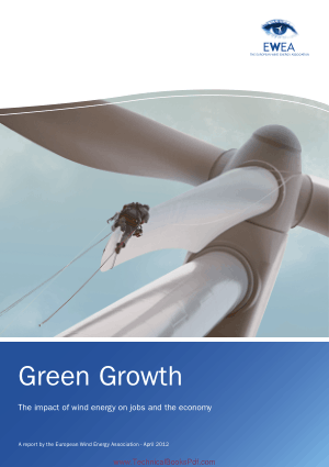 Green Growth The Impact Of Wind Energy On Jobs And The Economy