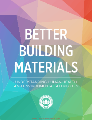 Better Building Materials Guide