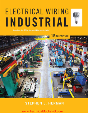 Electrical Wiring Industrial 15th Edition By Stephen L Herman
