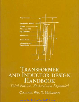 Transformer and Inductor Design Handbook Third Edition Revised and Expanded