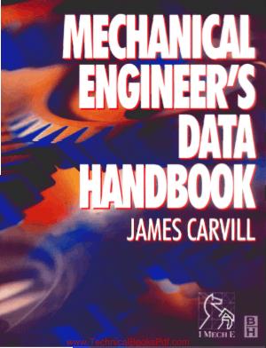 Mechanical Engineers Data Handbook by J Carvill